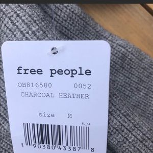 Free People Sweaters - NEW Free People Softly Structured Tunic Grey MED